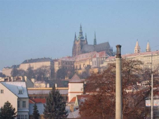 Hotel Troja: View to Castle
