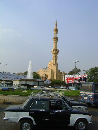 Hotel Longchamps: Moscheansicht über dem Nil b. Longchamps