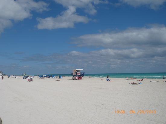 Miami Beach, FL: playa South Beach en Ocean Drive