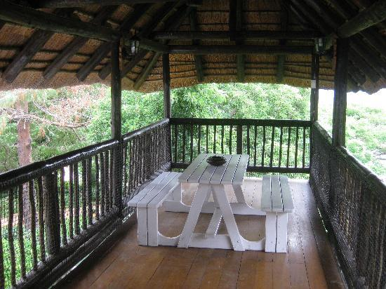 Boven Villa: our verandah