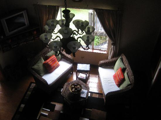 Boven Villa: view of the lounge area