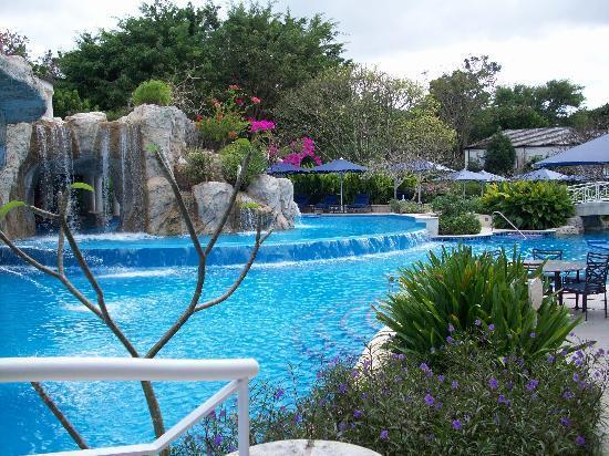 Sandy Lane Hotel: Pool area