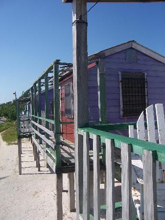 Neighboring cabins