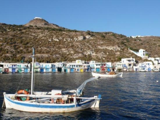 That's my favorite place in Milos Island, Klima village.