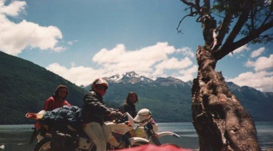 El Maiten, Argentina: lago rivadavia