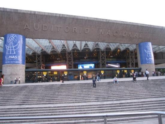 Auditorio Nacional: Yanni had a concert at the National Auditorium that night.  No, we didn't go.