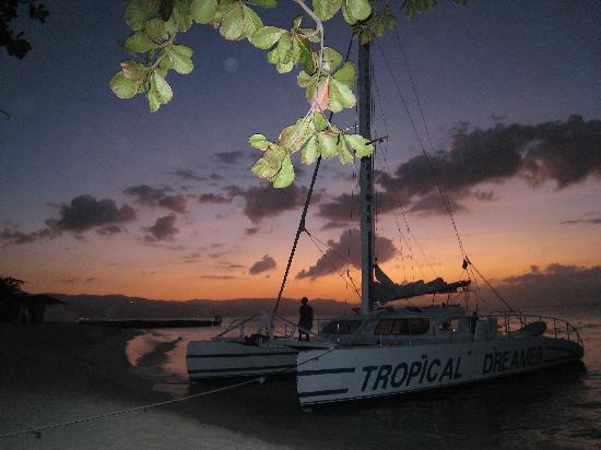 Sunset at Cornwall Beach