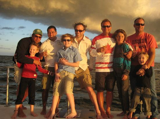 Tropicat Jazz & Wine Sunset Tour: Big boys and the Little Boys had a GREAT time!