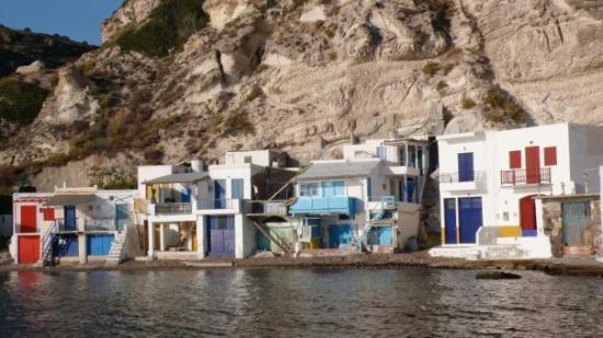 Klima village, Milos Island.