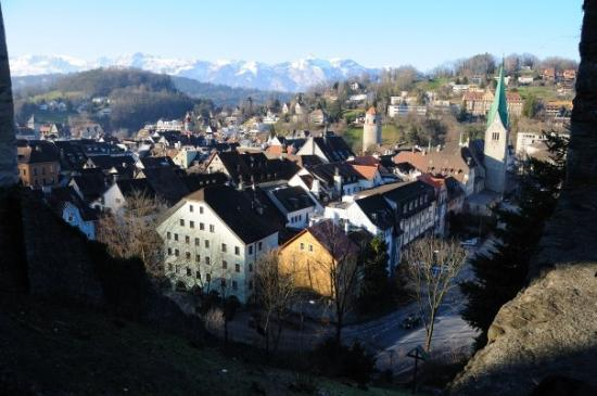 26. December 2008.  Feldkirch.  James Bond's Quantum of Solace was shot here, partly.