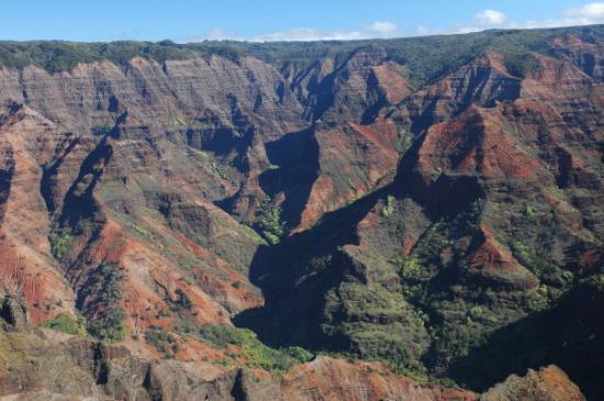 Koke'e State Park, Hawái: Waimea Canyon