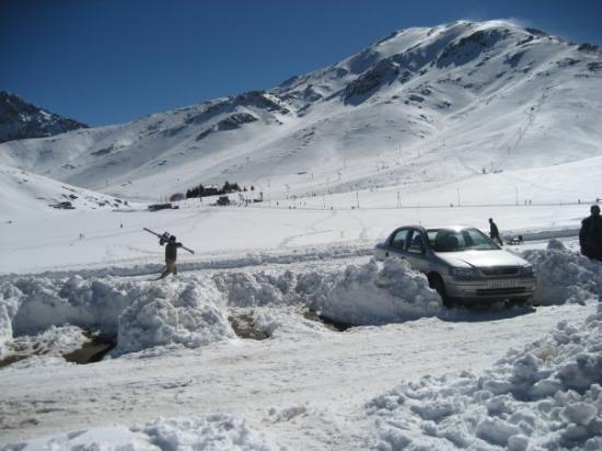 Oukaimeden, Marruecos: next time, we'll bring a shovel. haha