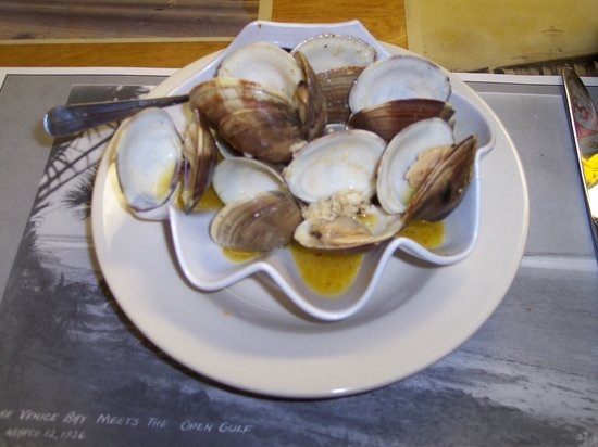 Curry Creek Cafe: cedar key clams..excellent