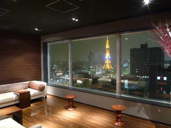 Cross Hotel Sapporo: 大浴場の湯上がり処