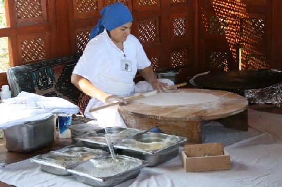 """Barut Kemer : She maded the best """"pancakes"""" - try a mix of all four ingredients"""