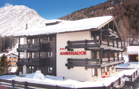 The attractive Chalet Hotel Ambassador