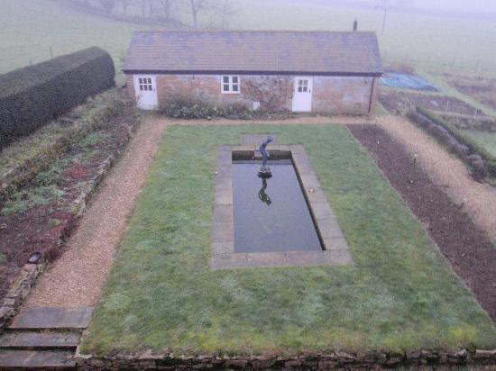 Cools Farm: from the bedroom window
