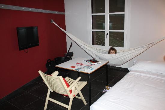 Casa Camper Hotel Barcelona: living area