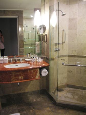 Bathroom, stand shower and bathtub - Picture of Thistle Johor Bahru ...