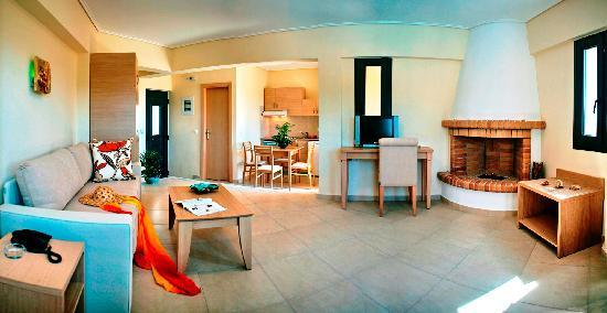 Aeolian Gaea Hotel: our suite