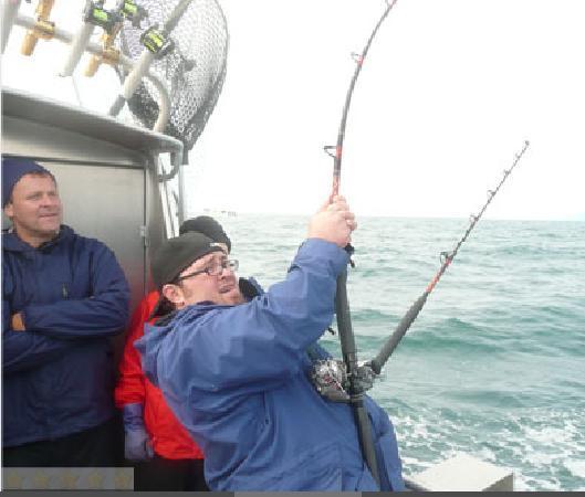 Fish Whisperer Lodge: Catching BIG halibut