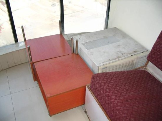 Broken Furniture at Vatika inn