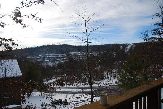 McGaheysville, VA: overlooking the slopes