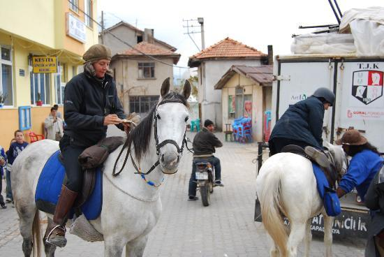 Akhal-Teke Horse Riding Center: Donna and Titiz find winter coming at Kestel