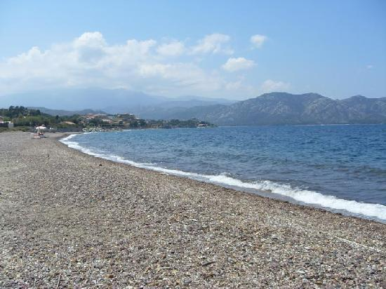 Camping D'Olzo : spiaggia adiacente