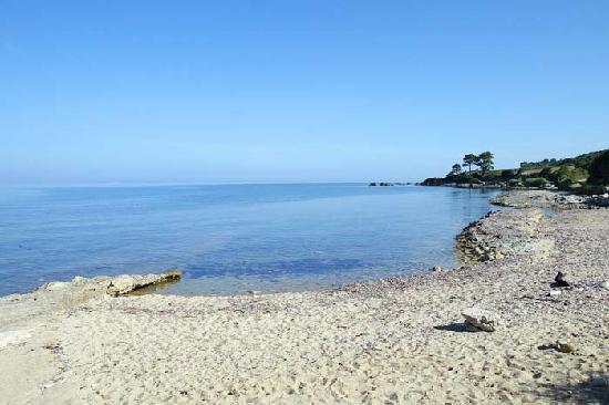 Camping D'Olzo : scogliera adiacente