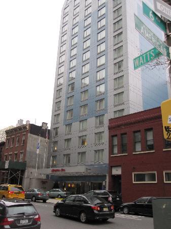 Street View In Soho Ny Picture Of Hampton Inn Manhattan Soho New York City Tripadvisor