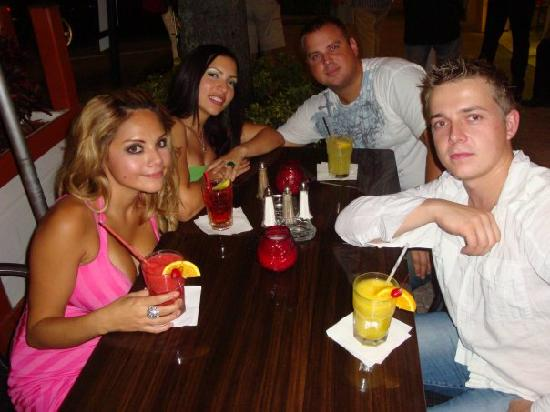 Miami Beach, FL: Dinner with friends
