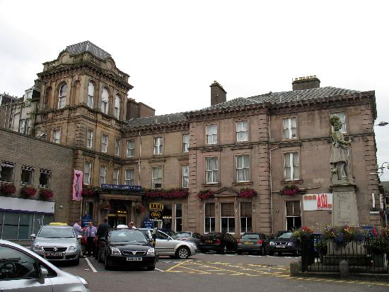 Ash Is Attached To A Hotel At The Inverness Train Station