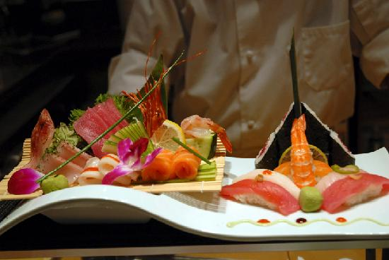 Our Beautiful Sushi Platter - Picture of Saketumi ...