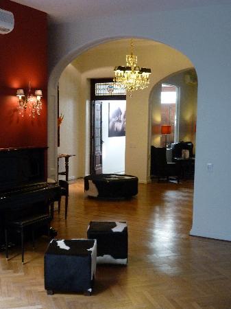 Magnolia Hotel Boutique : lobby