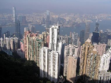 View from Peak Tower (Hong Kong)