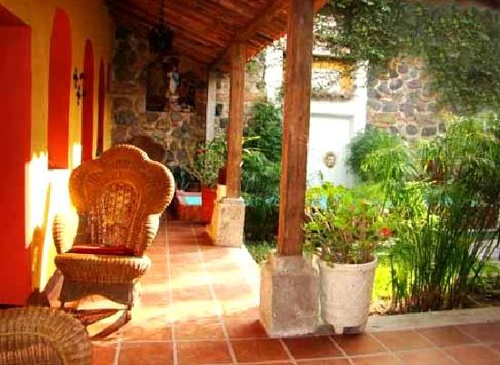 Hotel Casa Antigua: Nice quiet sitting areas
