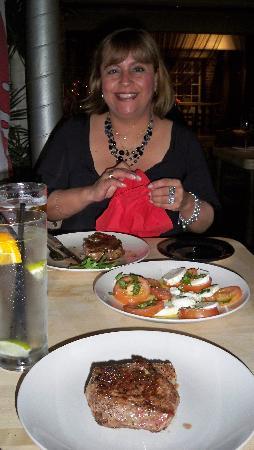 River Plate Steakhouse : carne de allí