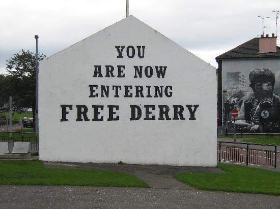 Amore Bed & Breakfast: We love Derry.....