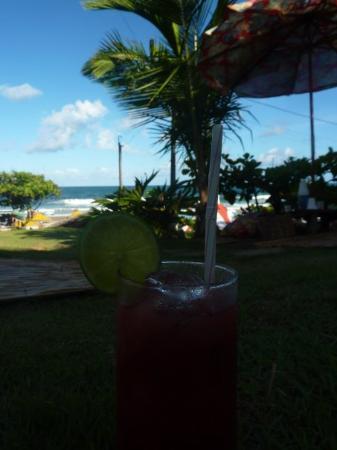 Itacaré, BA: Erdbeer-Caipi :-)