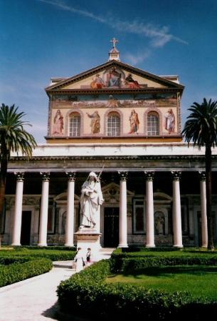 Abbazia di San Paolo Fuori Le Mura: Roma - S. Paolo Fuori le Mura