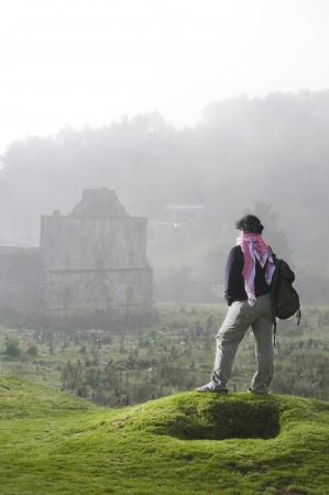 Foto: Marcos Ferro Amanecer entre neblina en San Juan Chamula Chiapas Esta foto la hicimos pa