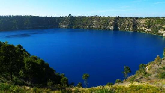 Mount Gambier, Australië: The Blue Lake
