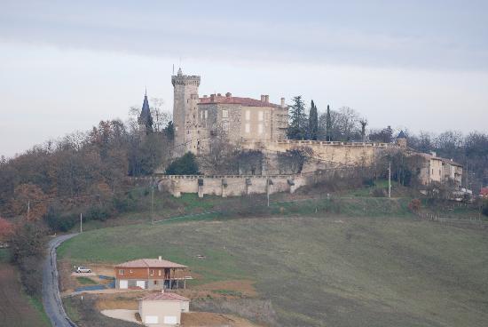 Domaine le Castagne: Une vue magnifique