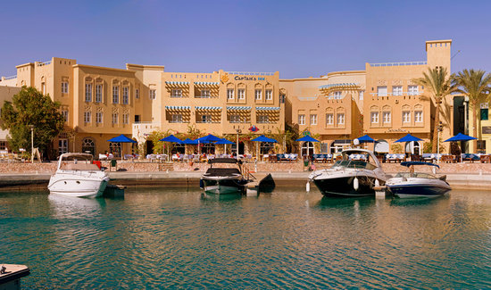 The Captain's Inn: captain's inn hotel el Gouna marina Egypt