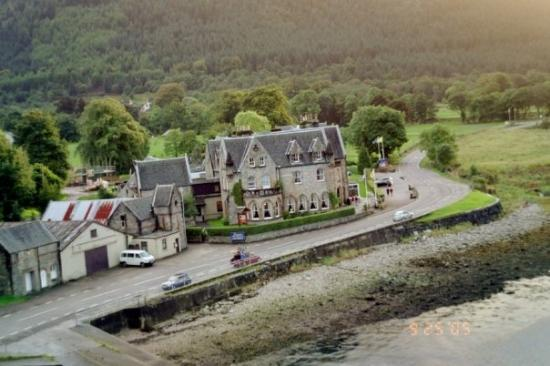 The Ballachulish Hotel From Bridge