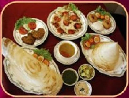 ร้านอาหาร โดซ่า คิงส์: DOSA KING NORTH & SOUTH INDIAN FOOD
