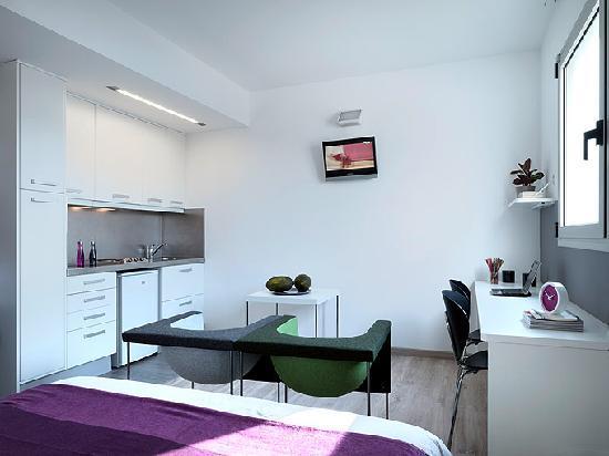 Residencia Melon District Marina: estudio con cocina equipada