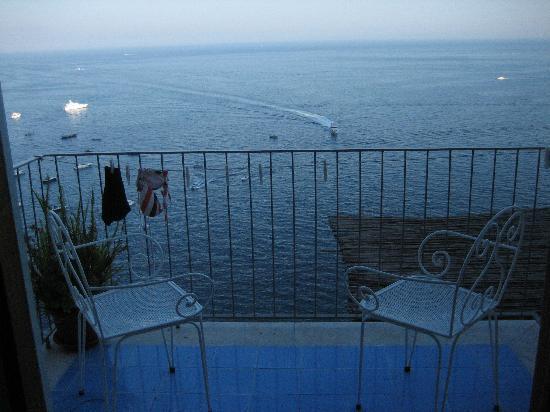 Villa Nettuno: View from our balcony