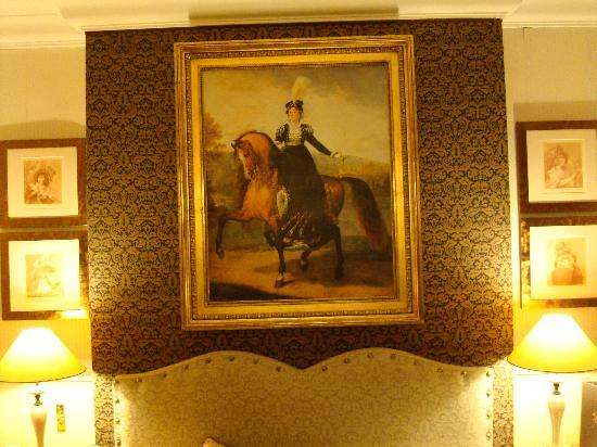 Hotel Lotti Paris: Painting in our Room at the Hotel Lotti